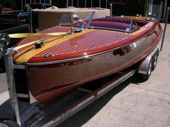1949 Chris-Craft 20' Custom - Mr. Randy Smalley of Scottsdale, Arizona owner